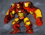 hulkbuster iron_man marvel power_armor rough space_jin spacezin