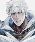 blue_eyes hokuto_no_ken isi88 male ryuga silver_hair
