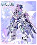 gundam gundam_0083 gundam_gp-03_stamen heartcatch_precure! mecha mechanization no_humans parody precure standing tsukikage_yuri yanagi_joe zoom_layer