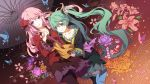 alternate_outfit bangs blue_eyes breasts butterfly clotheslolita fashionlong flower flowerholding frills girlsumbrellawa green_eyes green_hair hair hairpink hairsmileteal hairtwin hatsune_miku japanese_clothes kumio lolitamagnet long_hair magnet_(vocaloid) megurine_luka multiple_girls open_mouth oriental_umbrella pantyhose pink_hair project_diva project_diva_2nd skirt smile tailstwo thigh-highs thighhighs tongue twintails umbrella umbrellajapanese very_long_hair vocaloid