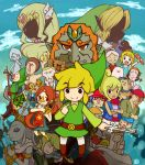 absolutely_everyone aryll character_request everyone ganondorf instrument link medli ocarina ocarina_of_time pig princess_zelda saria sunagimo_(hi_shokuyou) sunagimo_(nagimo) tetra the_king_of_red_lions the_legend_of_zelda toon_link wind_waker