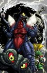gigan godzilla_(series) godzilla_ongoing_(series) hedorah monster_x spacegodzilla