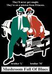 blues_brothers bluesmobile car dodge_monaco facial_hair kamonegi luigi mario motor_vehicle mushroom mustache nintendo parody sunglasses super_mario_bros. the_blues_brothers vehicle