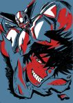 bad_id black_hair getter-1 getter_robo grin male mecha nagare_ryoma new_getter_robo nihon smile solo