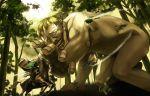fighting forest giant horse kanikajika nature shingeki_no_kyojin