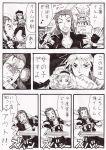 baseball_bat comic gloves irmgult_kazahara kyousuke_nanbu mahou_shoujo_madoka_magica nameless_(rynono09) super_robot_wars tomoe_mami translation_request