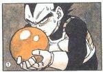 animated animated_gif bowling dragon_ball dragon_ball_z gutter_ball lowres saiyan_armor vegeta