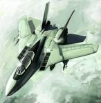 ace_combat ace_combat_5 airplane cloud clouds f-14 fighter_jet flying jet military missile shirofox sky