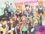 6+boys 6+girls ;t ahoge alvin_(tales_of_xillia) aqua_eyes beard black_hair blonde_hair blush boots brown_eyes brown_hair cat colored_eyelashes doll elise_lutus elle_mel_martha facial_hair formal gaias glasses green_eyes green_hair grey_hair hat jacket jude_mathis julius_will_kresnik kurarin leia_roland long_hair ludger_will_kresnik lulu_(tales_of_xillia_2) milla_(tales_of_xillia_2) milla_maxwell multicolored_hair multiple_boys multiple_girls muse_(tales_of_xillia) necktie pointy_ears ponytail red_eyes rowen_j._ilbert short_hair smile suit tales_of_(series) tales_of_xillia tales_of_xillia_2 tan tipo_(xillia) title_drop twintails two-tone_hair wink
