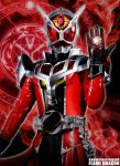 1boy belt gloves jewelry kamen_rider kamen_rider_wizard kamen_rider_wizard_(series) magic_circle male maru_(pixiv587569) mask ring solo
