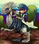 blue_eyes_white_dragon kaiba_seto male nintendo parody riding super_mario_bros. super_mario_world yu-gi-oh!