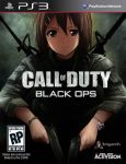 1girl alex_mason assault_rifle boxart brown_eyes brown_hair call_of_duty call_of_duty:_black_ops cosplay crossover dual_wielding gun handgun hirasawa_yui k-on! kaiga m16 m1911 military military_uniform parody pistol playstation_3 rifle short_hair solo uniform weapon