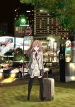 1girl bag black_legwear blazer blue_eyes blush handbag looking_at_viewer luggage original ragho_no_erika smile solo tagme thigh-highs v zettai_ryouiki